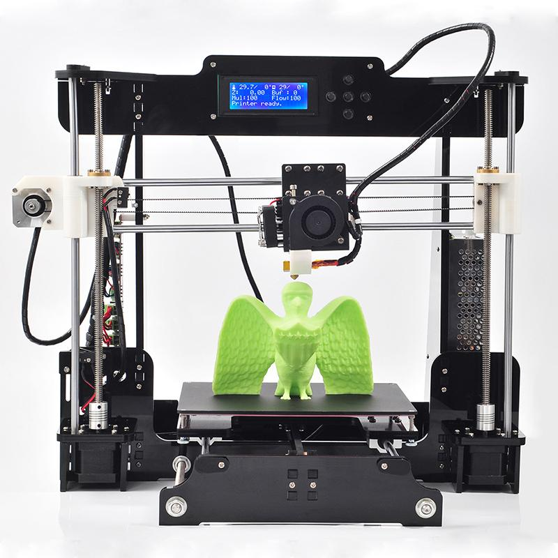 2016 New Upgraded Quality High Precision Reprap Prusa i3 DIY 3d Printer kit with 1 Rolls