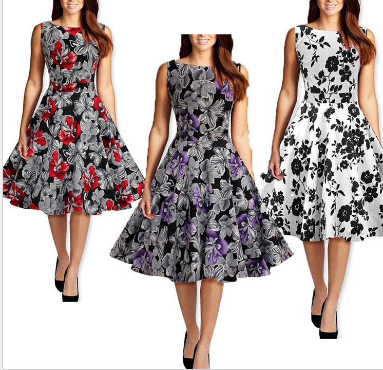 Womens 1950S Dresses