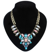 2015 Fashion woman necklace romantic Pendant Necklace Colgantes Mujer Zinc Alloy bohemian collares mujer chains hot
