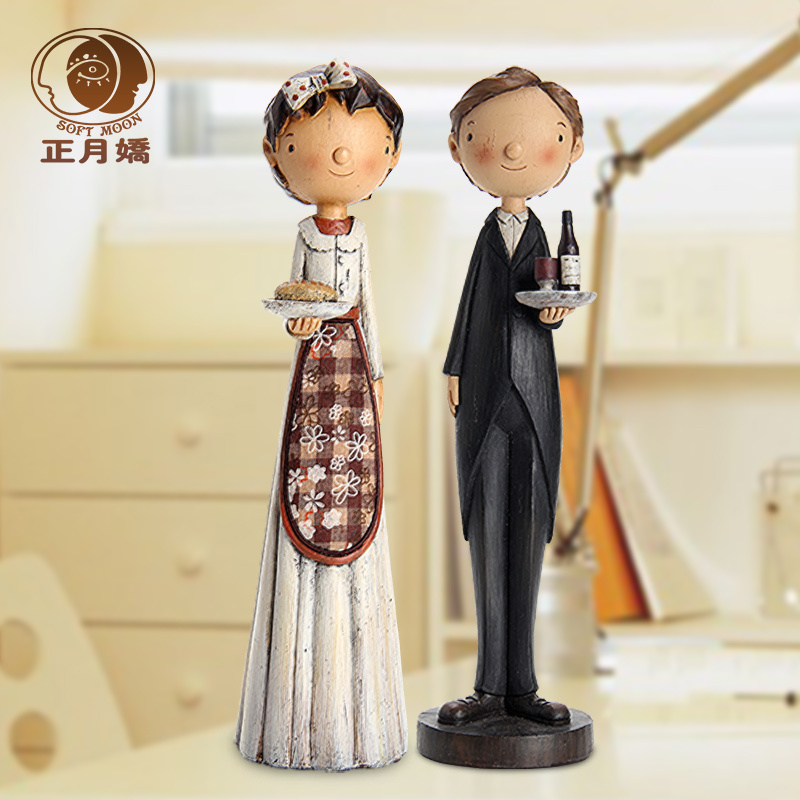 Couple Decoration Office Decoration cooler ornaments ornaments creative living room TV cabinet desk ornaments ornaments