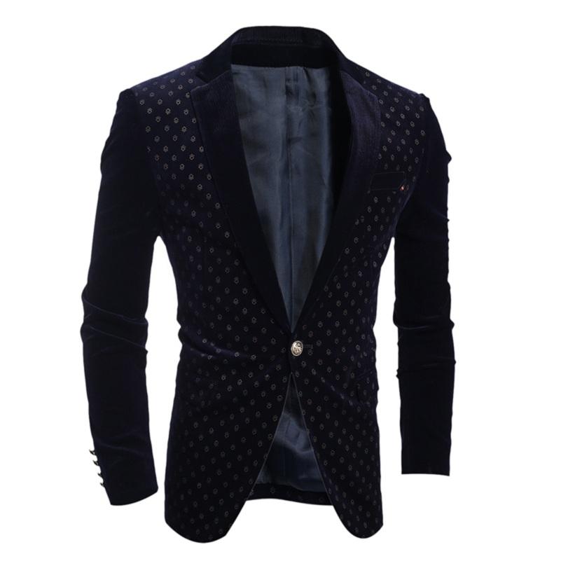 High quality men's fashion slim suit jacket cotton size M XXL products men Jacket Mens Wedding Dress Coat