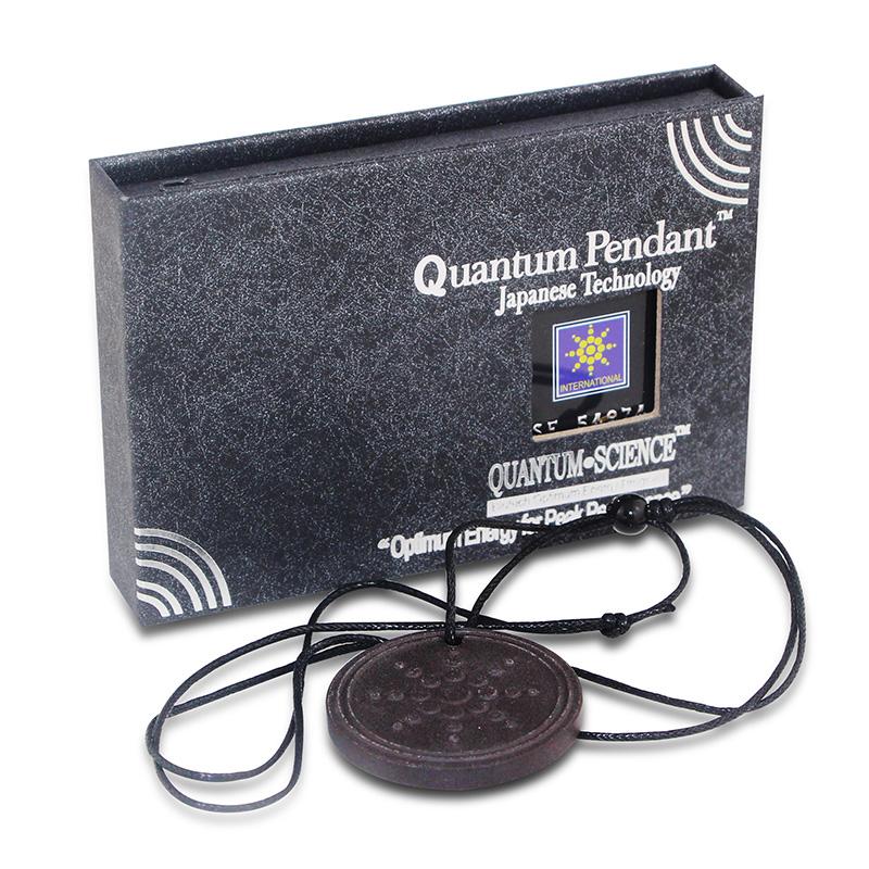 Fashion Unisex Quantum Scalar Energy Pendant Unique Design with Authenticity Ion Card and Pendant Necklace Health Care