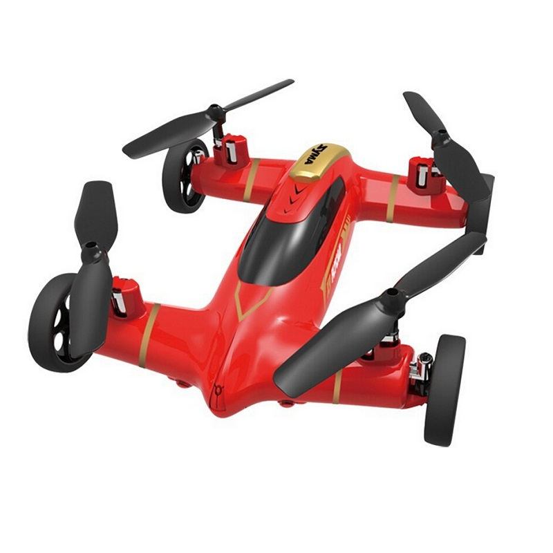 Syma X9 Air-Land Dual Mode RC Flying Car 4CH 6-Axis RC Quadcopter 2.4GHz Toys for Boys<br>