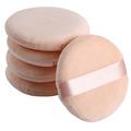 2016 New Arrivals 6PCS Women Beauty Facial Face Body Powder Puff Cosmetic Beauty Makeup Foundation Soft Sponge Girl Lady Gift