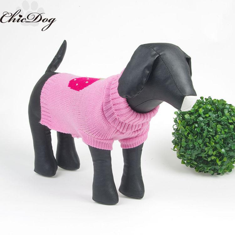 Xl Dog Sweater Knitting Pattern : Free shipping dog sweater knitting pattern wholesale