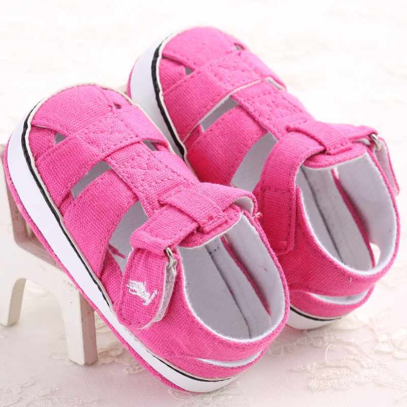 baby shoes in summer lovely style for girls breathable and