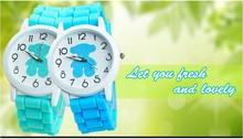 Caliente venta Real Madrid fans recuerdos para hombre moda deportes ocasionales de la aleación de silicona de cuarzo relojes hombres deportes relojes 2014