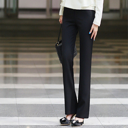 Women's elegant career ol gentlewomen western-style trousers yz610