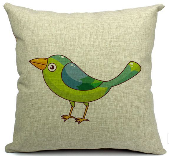 acheter maisons housses de coussin oiseaux design d coratif taie d 39 oreiller. Black Bedroom Furniture Sets. Home Design Ideas