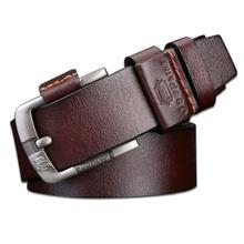 Buy Fashion Brand men luxury belts 2017 Cowboy Genuine Leather belt mens leather belts buckle belts jeans JP007 for $11.21 in AliExpress store