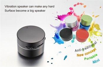 2012 new arrival vibration speaker orginal Dwarf  Rock ,  Dwarf 360 Omni-Directional Vibration Resonance speaker  for free gift