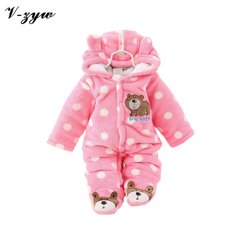 baby animal winter rompers overall children 39 s warm clothes4 12brand jumpsuit babies romper. Black Bedroom Furniture Sets. Home Design Ideas