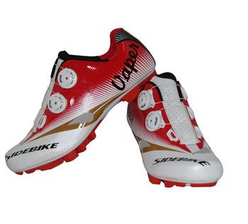 Sidebike Мужчины Велосипед Велоспорт Обувь Горные Дышащие Нескользящие MTB Auto-Lock Велосипед Сверхлегкий Zapatillas Zapato Ciclismo
