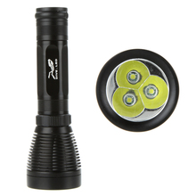 Underwater Lights 3*CREE XM-L T6 5000LM 8-Mode LED Diving Flashlight 26650 Torch Light Waterproof 60m for Diving/Fishing(China (Mainland))