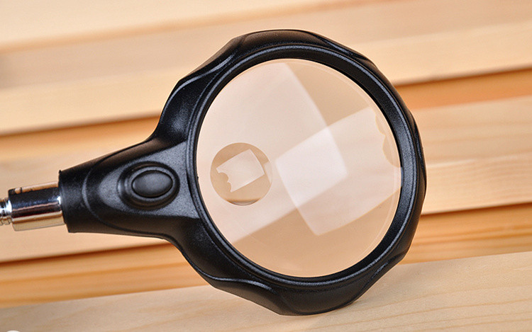 3.5x 12x magnifier loupe with led light soldering iron stand magnifying glass Auxiliary Clip repair Magnifying Loupe Tool
