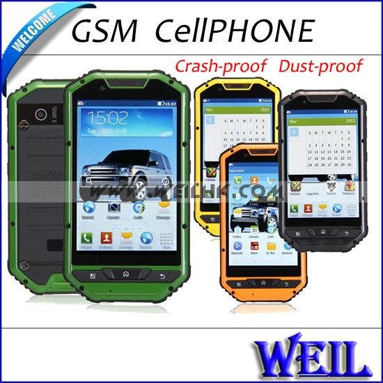 "Cheap A1 Quad Band Cell Phones Bluetooth 4.0"" WQVGA Capacitve Back Camera 2MP Dual Sim FM GPRS Sound Recorder Free shipping N068(China (Mainland))"