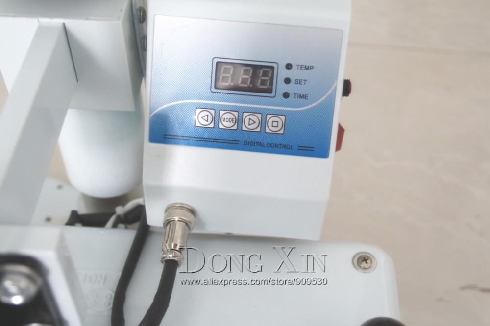 Купить 6in1 машина давления жары для Кружки, Шляпа, Пластину печатной машины DX-0601 Комбинированный теплообмен машина Многоцветный Кружка пресс машина