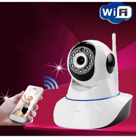 Video Babyfoon ip camera wifi baby Monitors with motion detection intercom and hd 720p live streaming baby electronic monitor#72(China (Mainland))