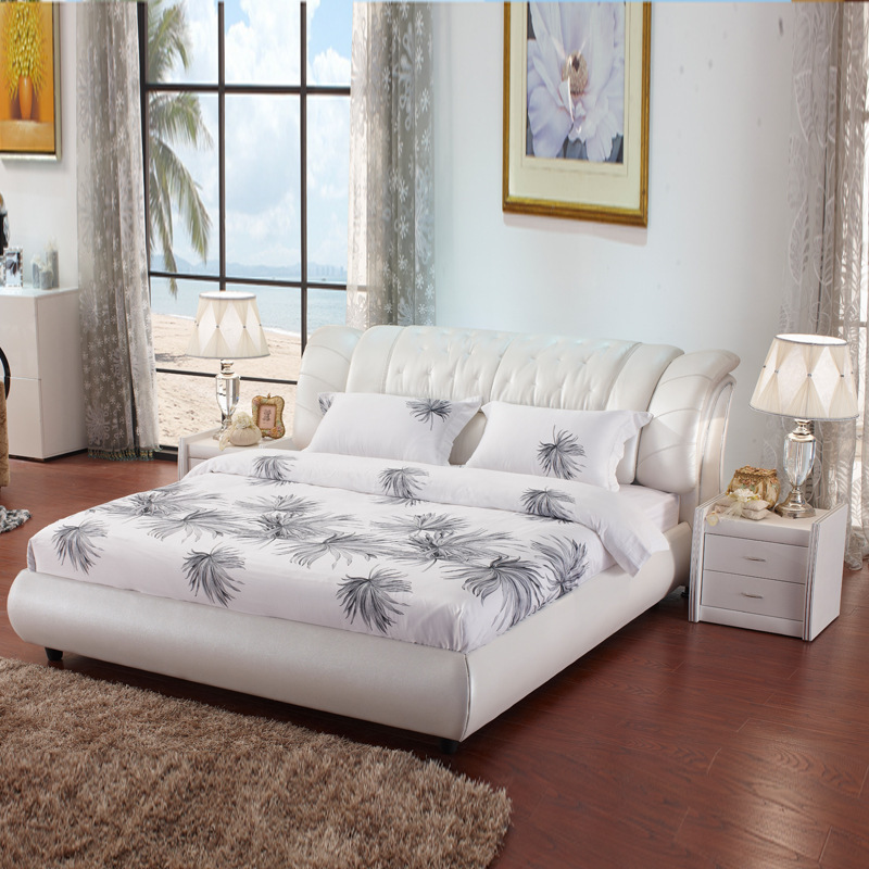 Bed furniture product wholesale software double skin bed best-selling brand sale direct selling hotel bedroom bed(China (Mainland))