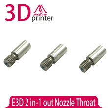 New !!! 2pcs Upgraded For 3D Printer E3D 2 in-1 out Nozzle Throat  with Teflon tube 1.75mm Free shipping
