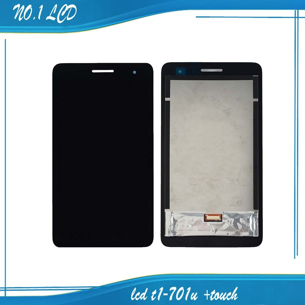 7 Black New For Huawei Honor Play Mediapad T1-701 T1 701U T1-701U LCD Display With Touch Screen Panel Digitizer free shipping<br><br>Aliexpress