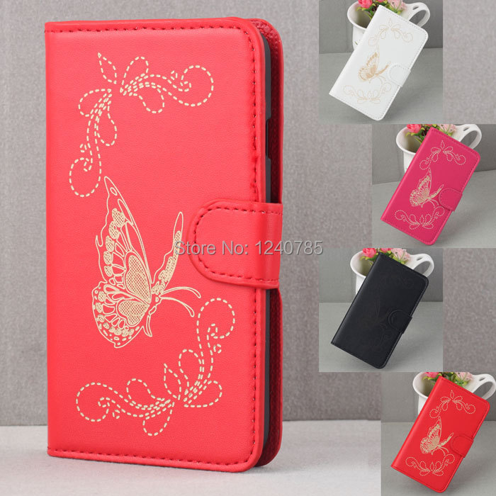 2014 Leather Magnetic Flip Hard Case Cover For LG L70 L 70 cell phone cases Free shipping(China (Mainland))