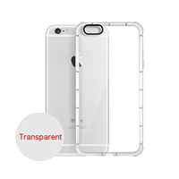 Shockproof Cases For iPhone 7 7 Plus 6 6S Plus Transparent Soft TPU Silicon Cover For iPhone 7Plus Case With Shockproof Cushion