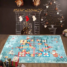 NEWEST Flight Chess Carpet Kids Large Baby Gym Play Mat Flying Chess Christmas Rugs And Carpets For Children Home Living Room(China (Mainland))