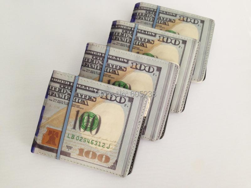 100 DOLLAR BILL 1000 Rouble MONEY WALLET MAN WALLET New 100 Bill Benjamin Wallet