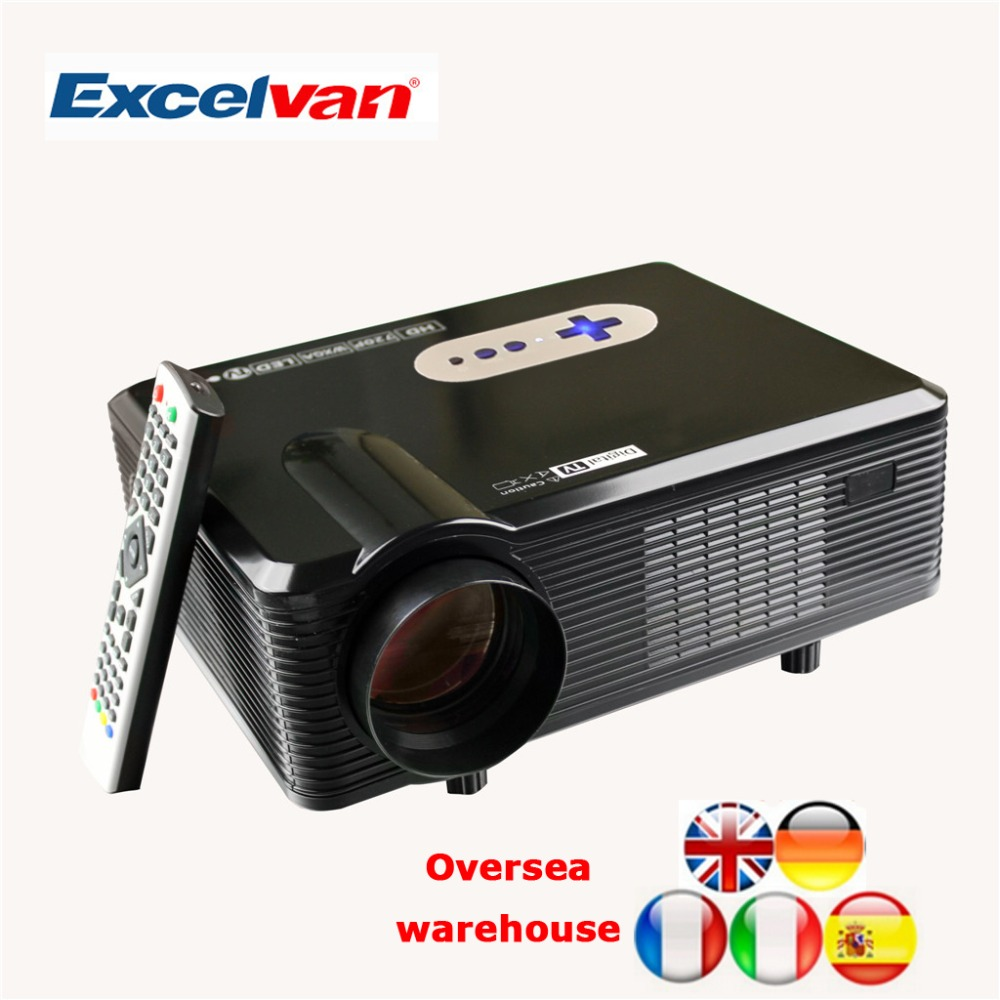 Aliexpress Com Buy Excelvan Cl720 Full Hd Home Theater: HOT-Excelvan-CL720D-Projector-3000-Lumens-HD-Home-Theater