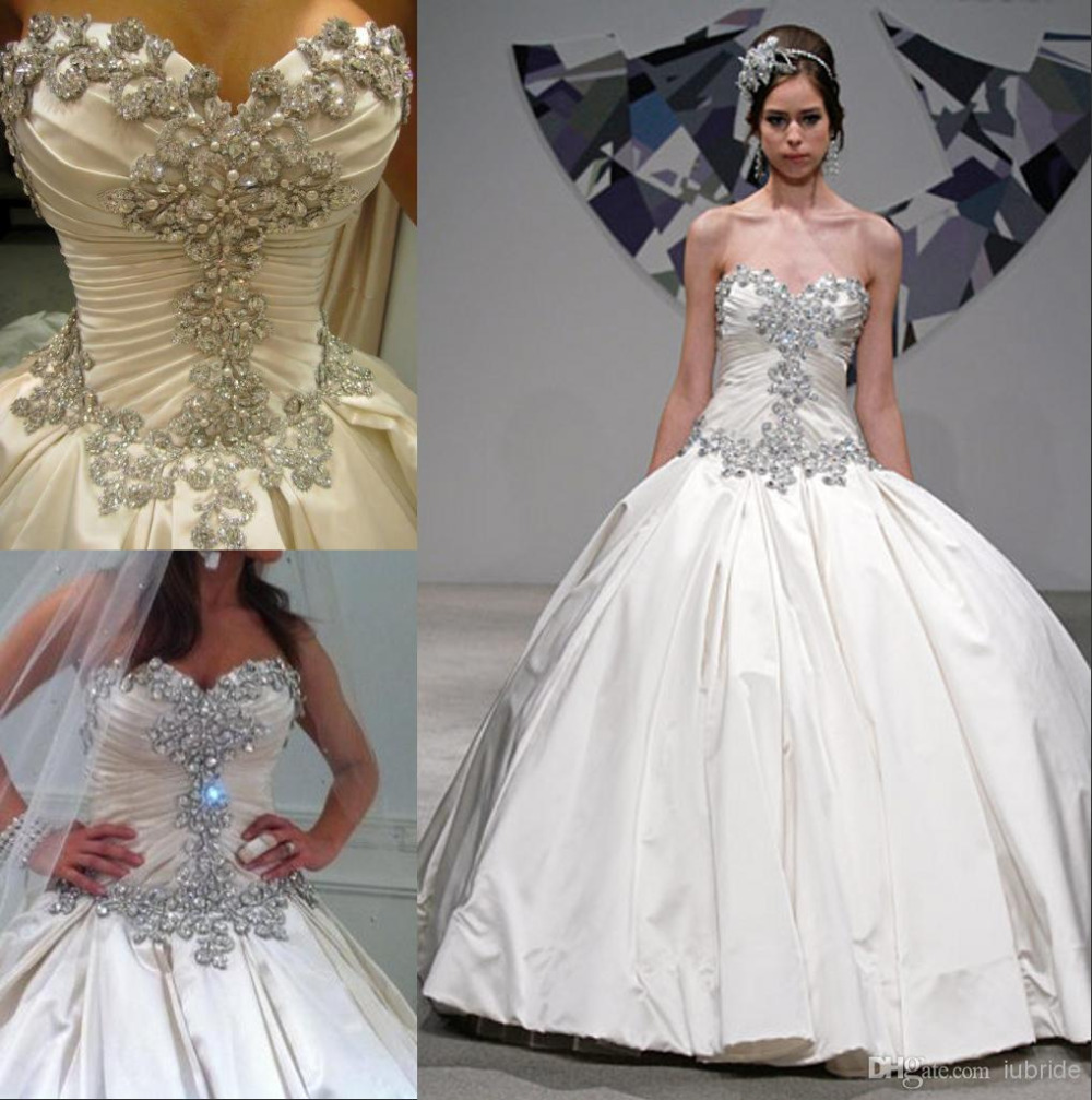 Wedding Gowns For   China : Gown wedding dresses satin bridal gowns for from china dress