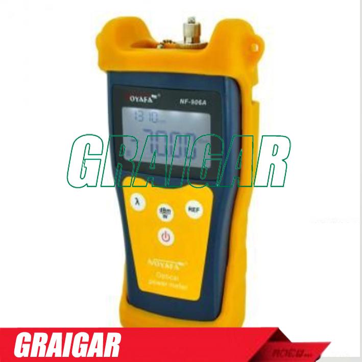 Noyafa High quality NF-906A Laser Optical Fiber Tester Optical Power Meter Tester Fiber Optic FTTH -70~+10 Fiber Optic tracker