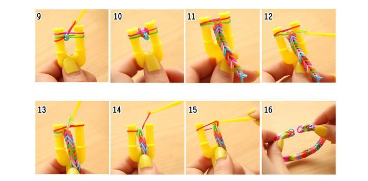 Как сделать браслет из резинок самый лёгкий способ