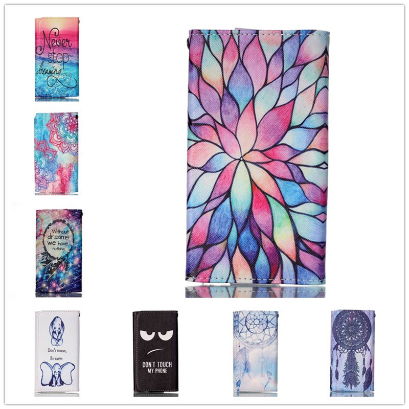 For Karbonn Mobiles A100 Case Mobile Phone Cases High Quality Fashion Painting Leather Wallet Case Free Shipping(China (Mainland))