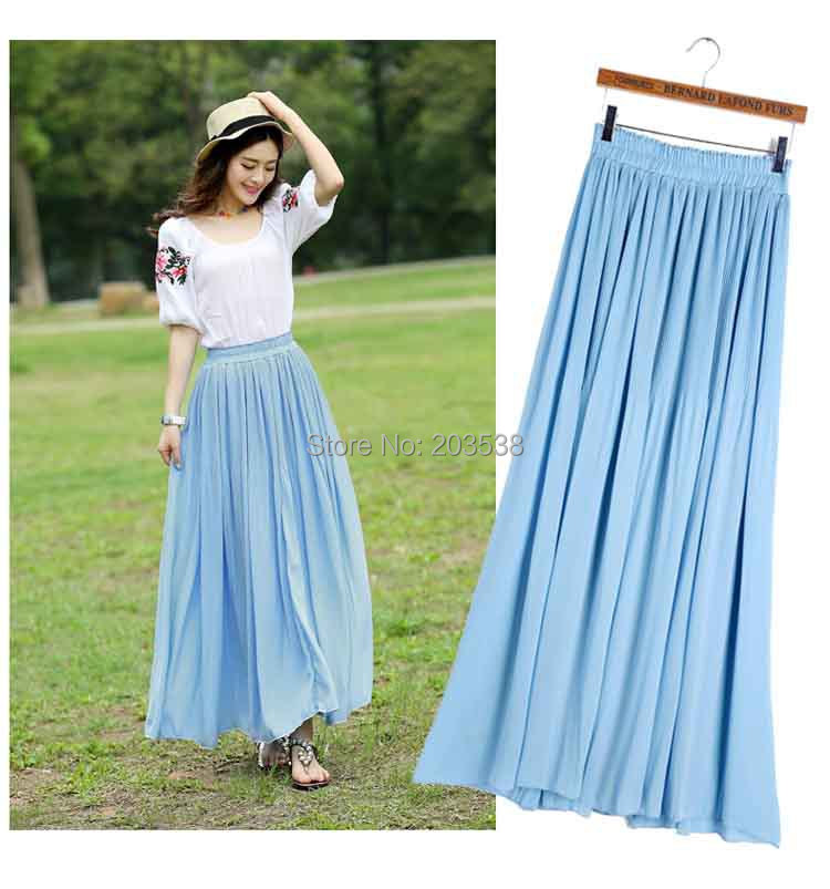 Latest Long Skirts In Fashion