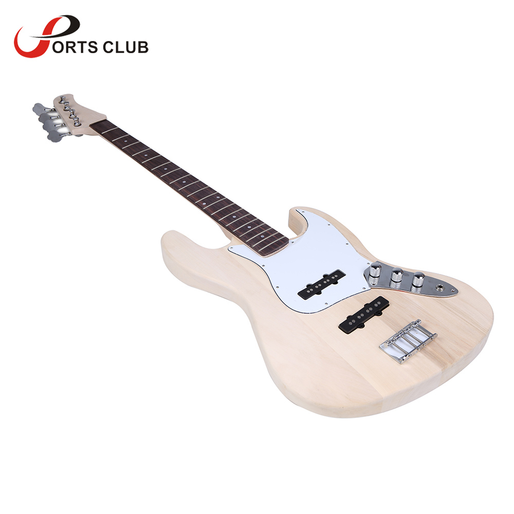 Bass Style 4-String Electric Bass Solid Basswood Body Maple Neck Rosewood Fingerboard DIY Kit Set Top Class Material(China (Mainland))