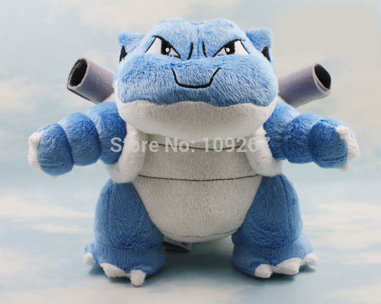 10 Big Water Blastoise Brinquedo Pokemon Plush Toys With Tags New font b Japan b font