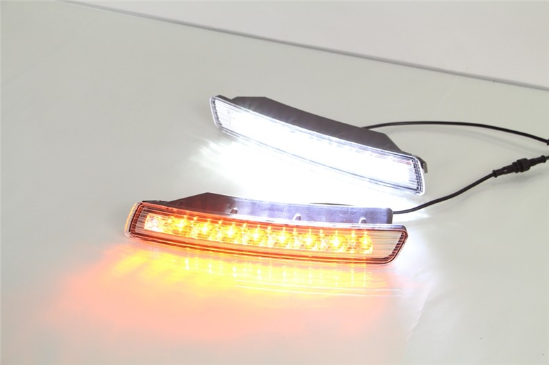 A&T car styling For VW beetle LED DRL For beetle led fog lamps daytime running light High brightness guide LED DRL