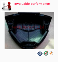 Car styling Free shipping Car SRS Airbag Steering Wheel Cover For FIT 2014 black color Driver Airbag Cover(China (Mainland))