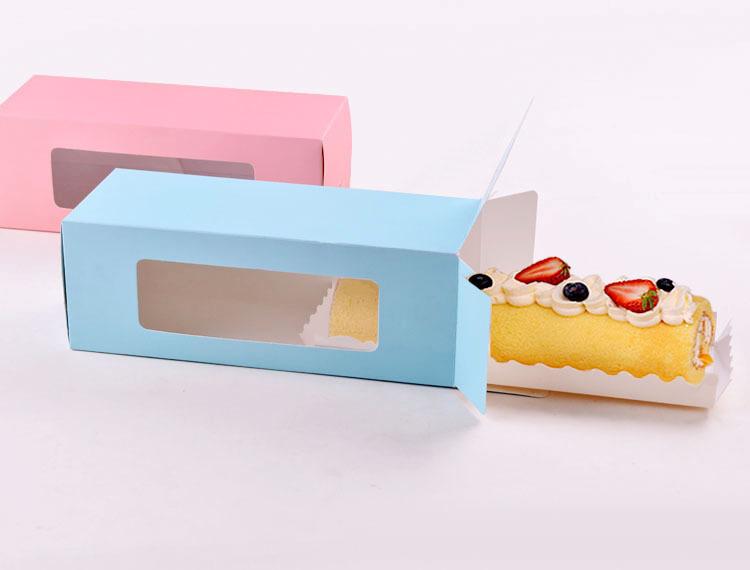 Long chocolate biscuit cake roll Musi Xi dessert tart ...