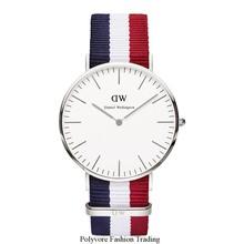 Populares Mens Relojes nueva marca de calidad de lujo dw Relojes reloj Daniel Wellington mujeres del reloj Original movimiento de cuarzo militar
