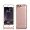 External Backup Battery Cover Pack Charger Back Case for iPhone 6 6S 4 7 3500mAh 5800mAh