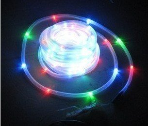 100LED 12M Solar Tube Light String Waterproof,Free Shipping
