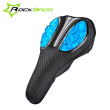 RockBros Bicycle Saddle 6 Colors GEL Comfortable Soft & Breathable MTB Mountain Road Bike Saddle Cover Cycling Seat Accessories(China (Mainland))