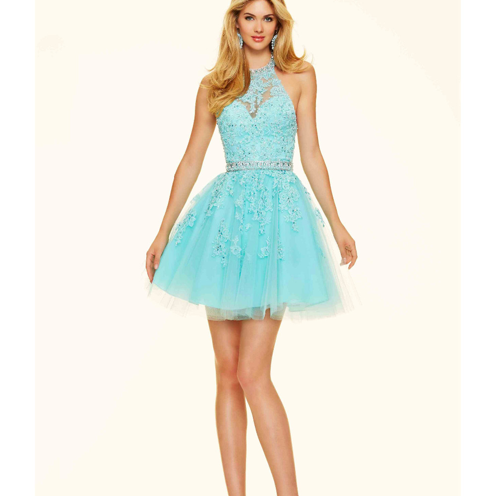 fashion 8th grade prom dresses 2016 light pink homecoming