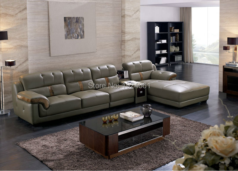 Sectional sofa 2015 hot sale set muebles bolsa real modern for Italienische couch