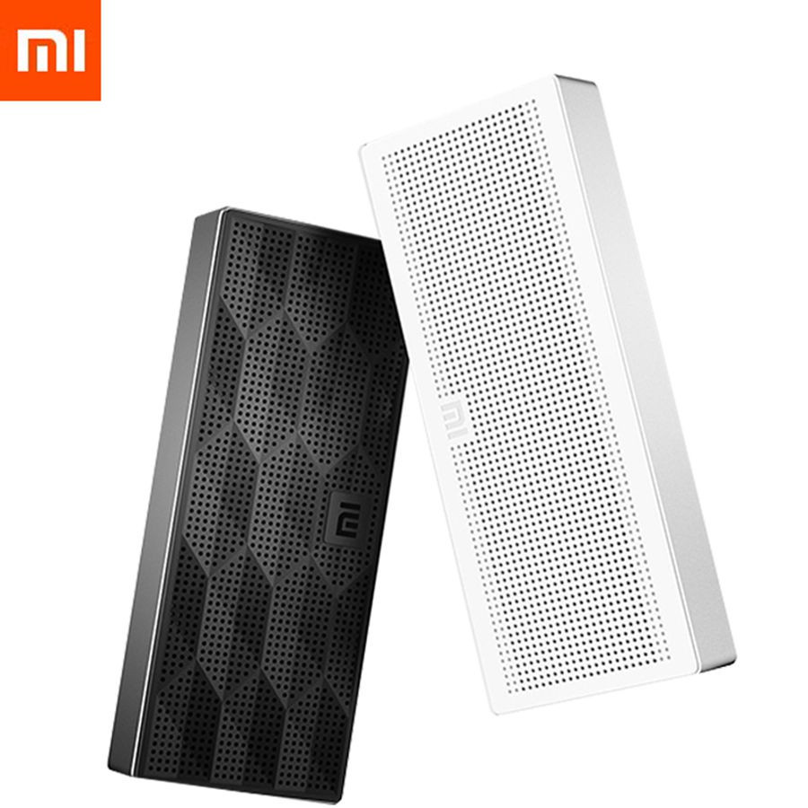 Original Xiaomi Wireless Bluetooth 4.0 Speaker Portable Mini Square Box Stero Music Player For IPhone Android Phones PC Tablet(China (Mainland))
