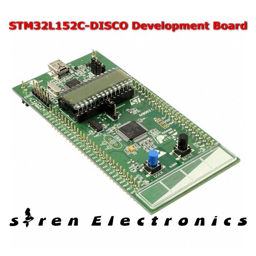 1 pcs x STM32L152C DISCO 32L152CDISCOVERY Development Boards - ARM STM32L152RCT6 MCU Discovery Kit Board STM32L152C-DISCO(China (Mainland))