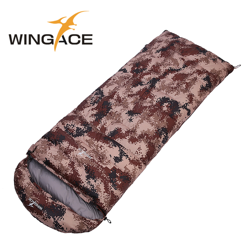 Fill 400G 600G 800G 1000G ultralight goose down camping outdoor daunenschlafsack envelope fall Travel sleep adult sleeping bags(China (Mainland))