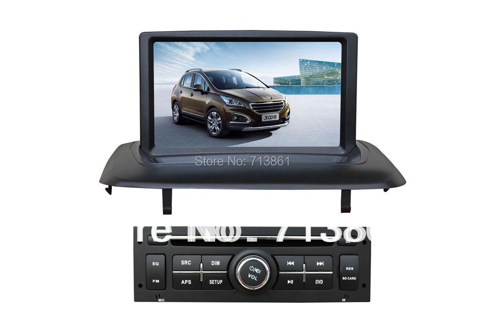 8 fit pour peugeot 3008 2013 lecteur dvd de voiture voiture gps navigation wince 6 0 bt tv. Black Bedroom Furniture Sets. Home Design Ideas